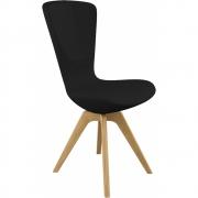 Varier - Invite Chair Oak, Fame Black