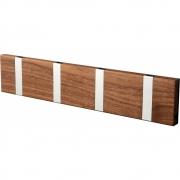 LoCa - Knax Garderobenleiste Holz 4 Haken