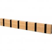 LoCa - Knax Wall Wardrobe Wooden 6 Hooks