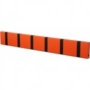 LoCa - Knax Wall Wardrobe 6 Hooks Hot Orange | Black