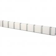 LoCa - Knax Wall Wardrobe 8 Hooks White | Grey