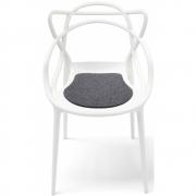 Hey Sign - Kartell Masters Stuhl Sitzauflage antirutsch 01 Anthrazit