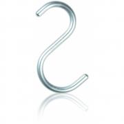 Nomess Copenhagen - S-Hook Haken (5 Stk.) Medium | Alu