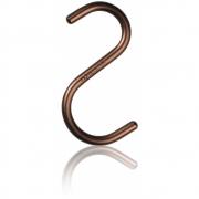 Nomess Copenhagen - S-Hook Haken (5 Stk.) Medium | Bronze