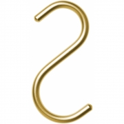 Nomess Copenhagen - S-Hook Haken (5 Stk.) Mini | Gold