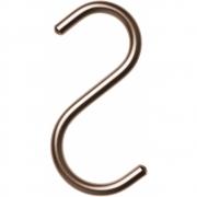 Nomess Copenhagen - S-Hook Haken (5 Stk.) Mini | Dunkelgrau