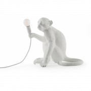 Seletti - Monkey Sitting Floor Lamp