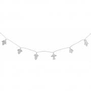 Seletti - Floralia Cadeia com luzes Transparente