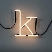 Seletti - Neon Art Letra iluminada K