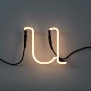 Seletti - Neon Art Leuchtbuchstabe U