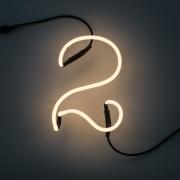 Seletti - Neon Art Numbers Lamp 2