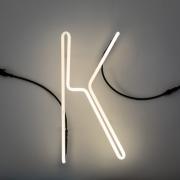 Seletti - Alphafont Letra iluminada K