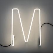 Seletti - Alphafont Letra iluminada M
