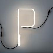 Seletti - Alphafont Letra iluminada P