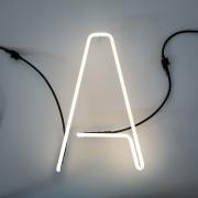 Seletti - Alphafont Letra iluminada A