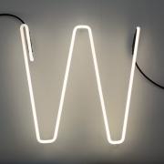 Seletti - Alphafont Letra iluminada W