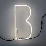 Seletti - Alphafont Letra iluminada B