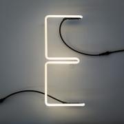 Seletti - Alphafont Letra iluminada E