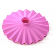 Seletti - Cappello abat-jour pour Bella Vista guirlande lumineuse Rose