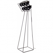 Seletti - Multilamp Floor Lamp dimmable Black