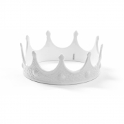 Seletti - Memorabilia My Crown Coroa de decoração Branco