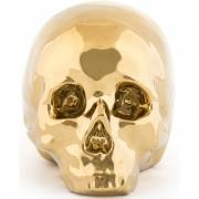 Seletti - Memorabilia My Skull Caveira de decoração Ouro