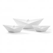 Seletti - Memorabilia My Boat Barcos de decoração (conjunto de 3)