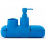 Seletti - Submarino Bad Accessoire Set Blau