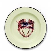 Seletti - TP Emaille Teller Eye