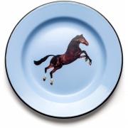 Seletti - TP Emaille Teller Horse