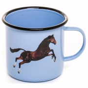 Seletti - TP Emaille Becher Horse