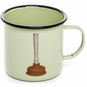 Seletti - TP Emaille Becher Plunger