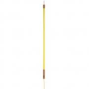 Seletti - Linea Tubo fluorescente de LED Amarelo