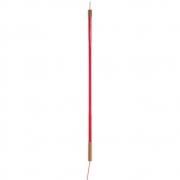 Seletti - Linea Tubo fluorescente de LED Vermelho