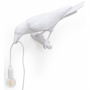 Seletti - Bird Looking Wandleuchte White | Looking Left