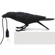 Seletti - Bird Playing Tischleuchte Black   Playing