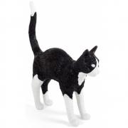 Seletti - Jobby The Cat Schwarz & Weiß