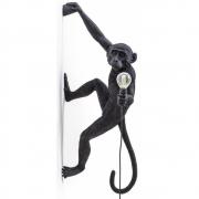 Seletti - The Monkey Lamp Hanging noir