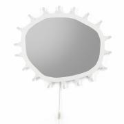 Seletti - Luminaire Spiegel mit Glühbirnen