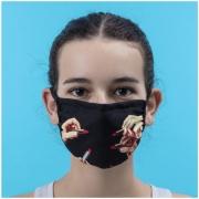 Seletti - TP Lipstick Black Schutzmaske S/M