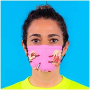 Masque Protecteur TP S/M Lipstick Pink - Seletti
