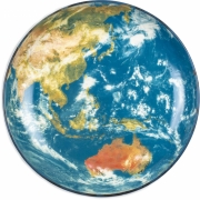 Seletti Diesel - Cosmic Diner Earth Asia Tablett