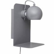 Frandsen - Ball Wall Lamp with built-in charger Grey