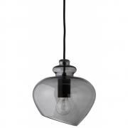 Frandsen - Grace Pendant Lamp Ø 23cm Smoke / Black