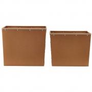House Doctor - Box Caixas De Armazenamento (Conjunto De 2)