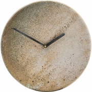 House Doctor - Metro Wall Clock Brown