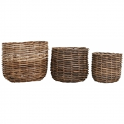 House Doctor - Braid Baskets (Set of 3)