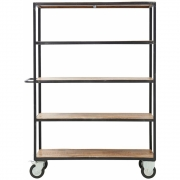 House Doctor serving trolley / shelf on wheels
