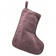 House Doctor - Christmas stocking Aubergine / 20.5 cm