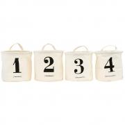 House Doctor - 1-2-3-4 Aufbewahrungskorb